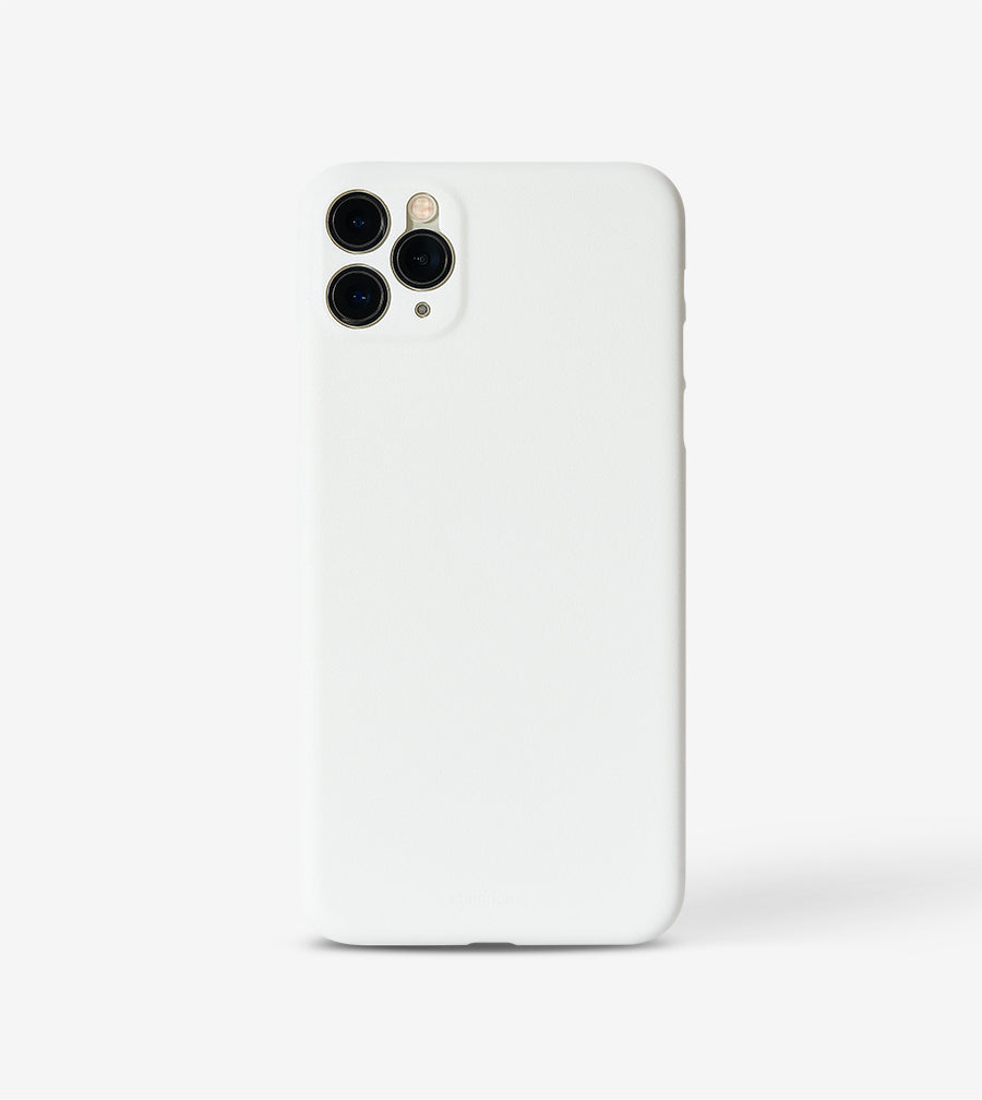 chimpcase dünnes iPhone 11 PRO MAX Skinny Case - solid white