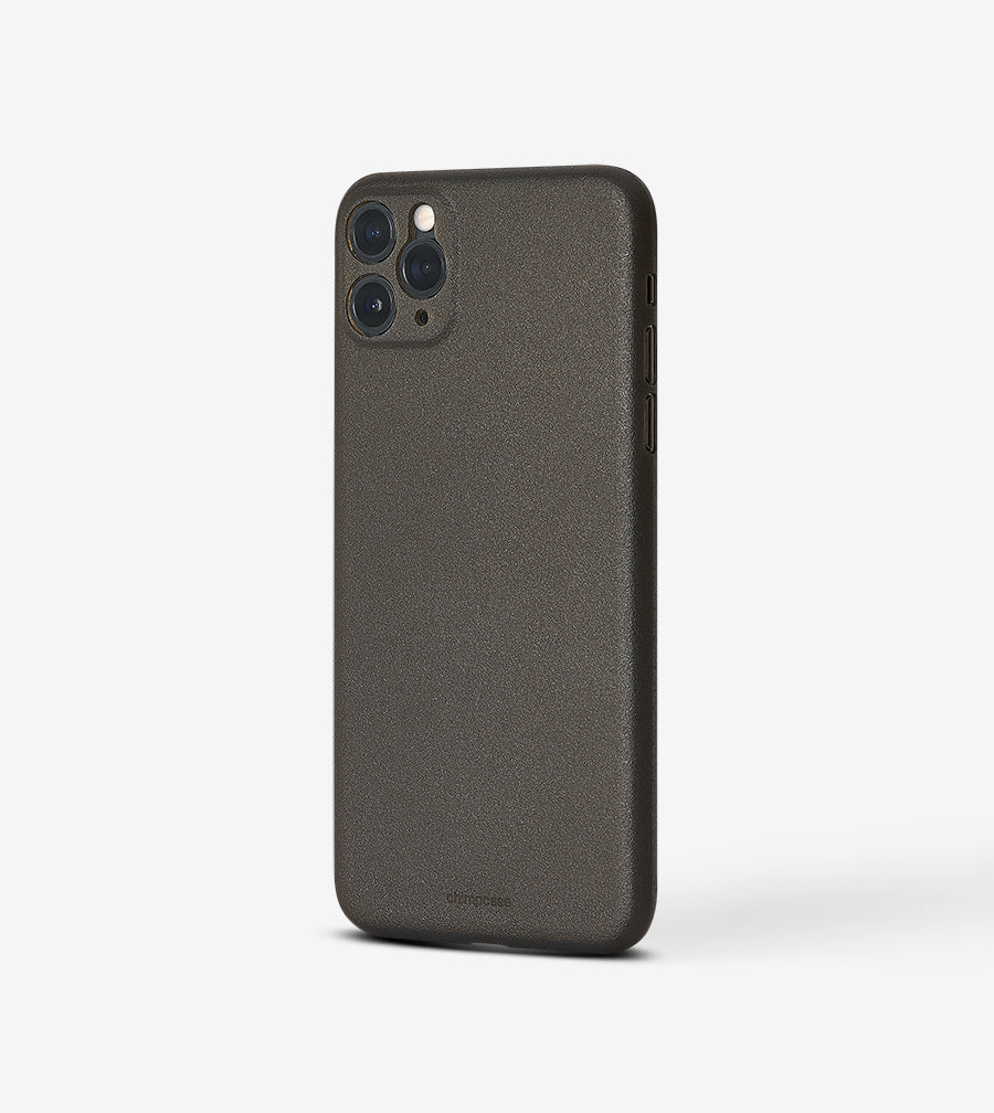 Ultradünnes iPhone 11 PRO MAX Skinny Case - frosty black