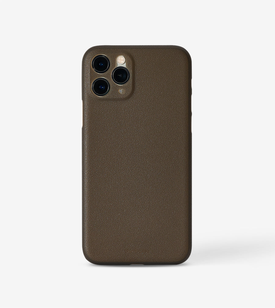 Ultradünnes iPhone 11 PRO Skinny Case - frosty black