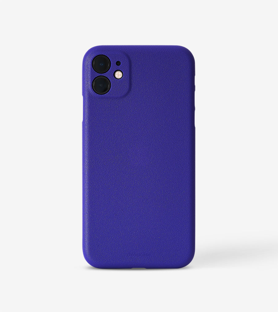 chimpcase dünnes iPhone 11 Skinny Case - purple