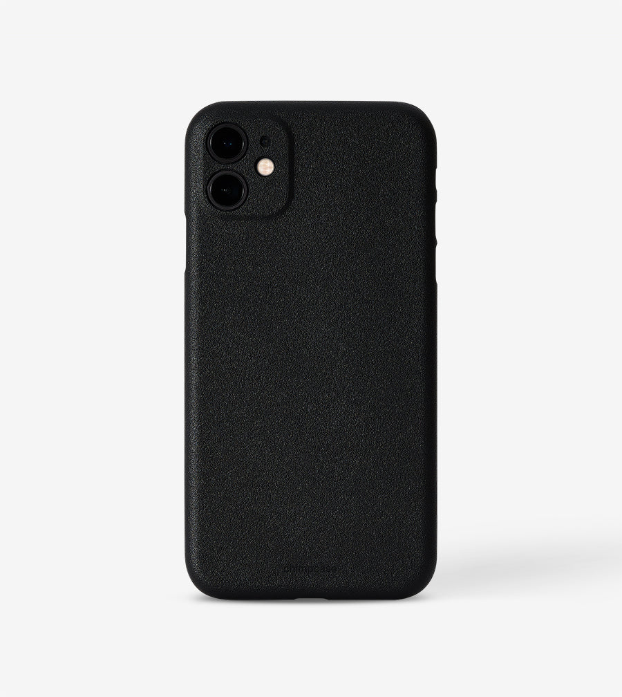 Ultradünnes iPhone 11 Skinny Case - matte black