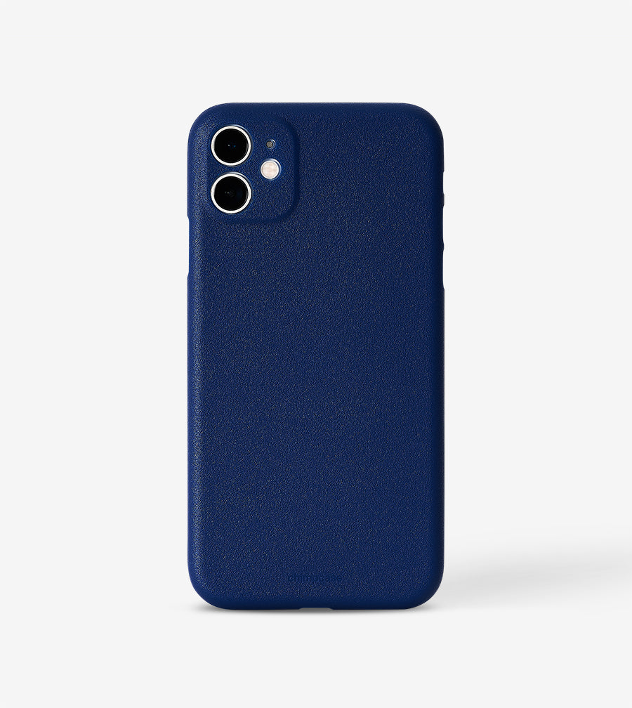 chimpcase dünnes iPhone 11 Skinny Case - blueberry