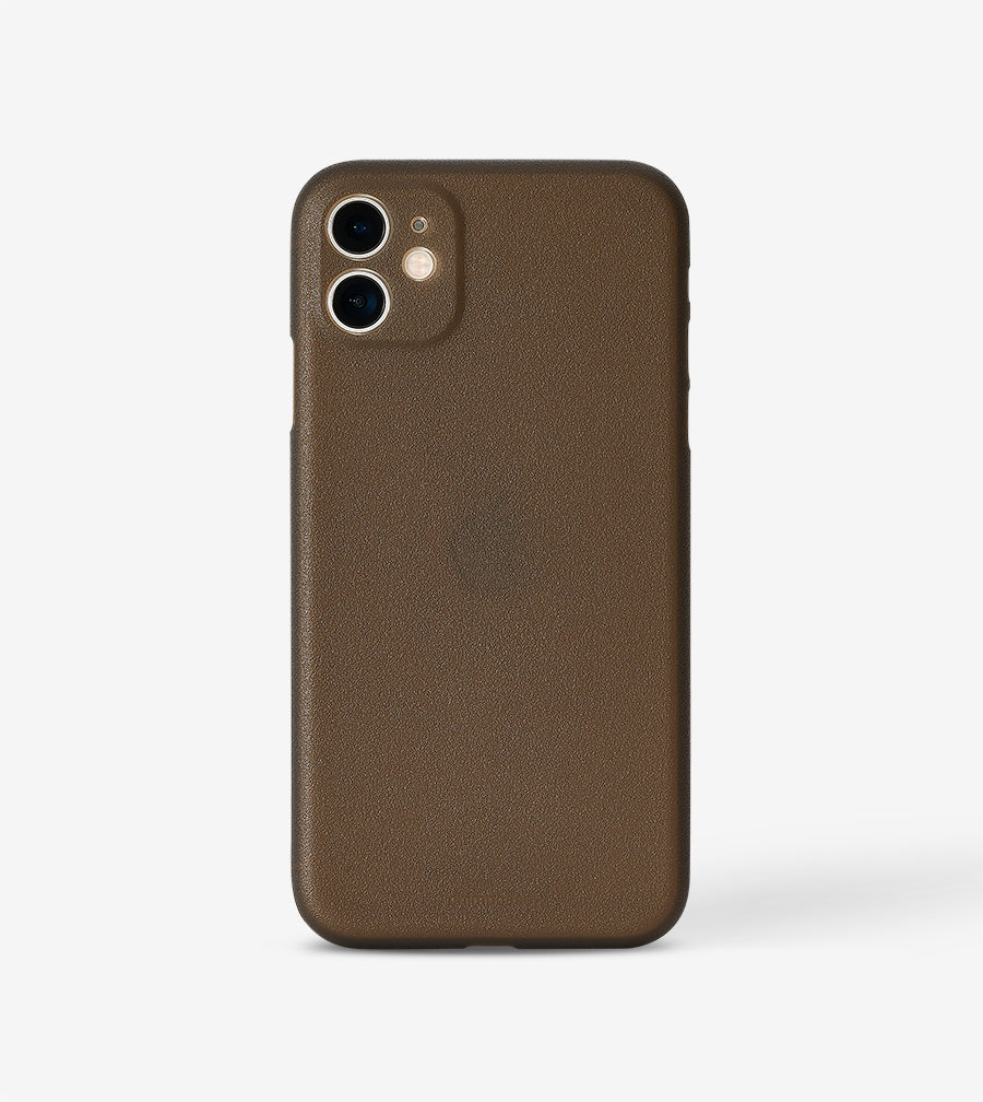 chimpcase iPhone 11 Skinny Case - frosty black