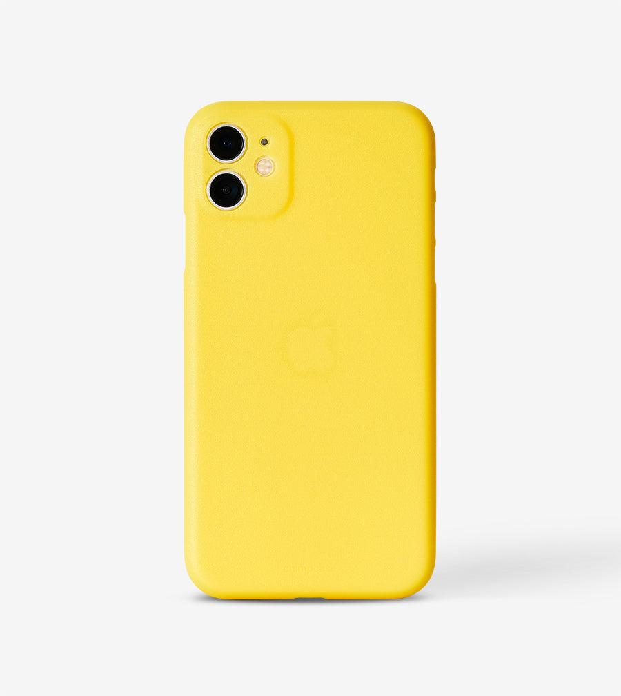 chimpcase dünnes iPhone 11 Skinny Case - mango