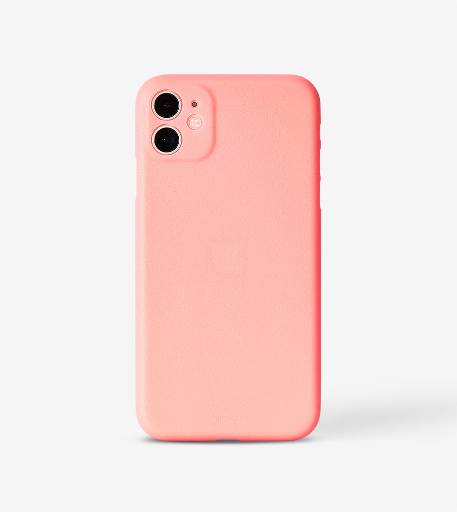 chimpcase dünnes iPhone 11 Skinny Case - rose