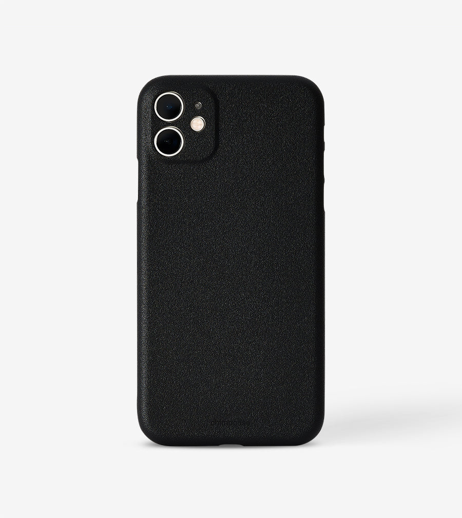 chimpcase dünnes iPhone 11 Skinny Case - solid black