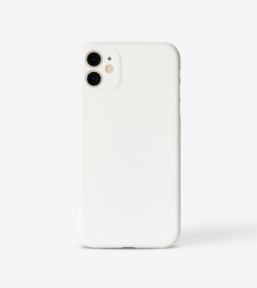 chimpcase iPhone 11 Skinny Case - solid white