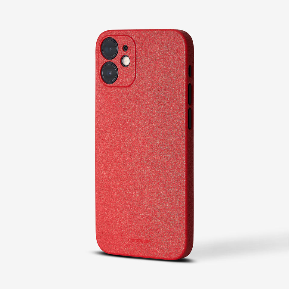 Ultradünnes iPhone 12 Mini Skinny Case - strawberry