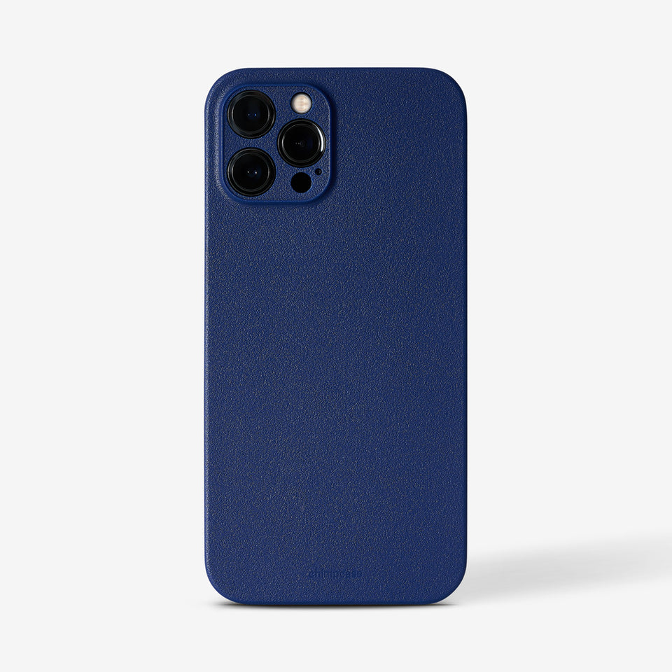 Ultradünnes iPhone 12 PRO MAX Skinny Case - blueberry