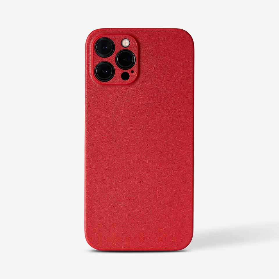 Ultradünnes iPhone 12 PRO MAX Skinny Case - strawberry
