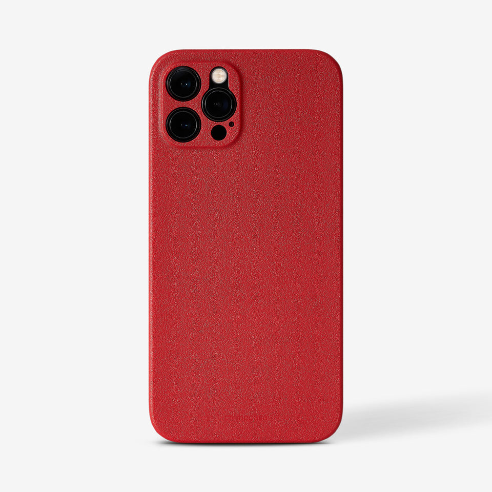 Ultradünnes iPhone 12 PRO Skinny Case - strawberry