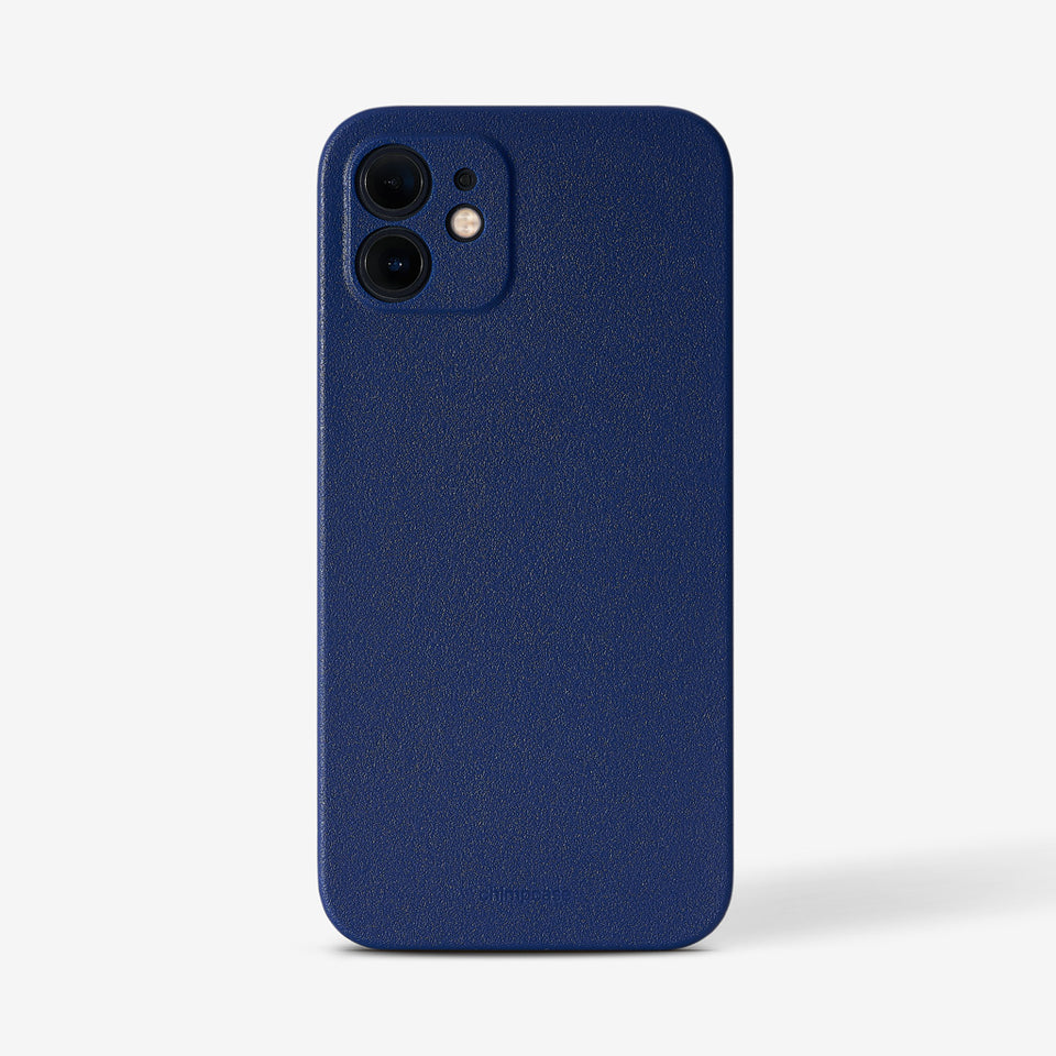 Ultradünnes iPhone 12 Mini Skinny Case - blueberry