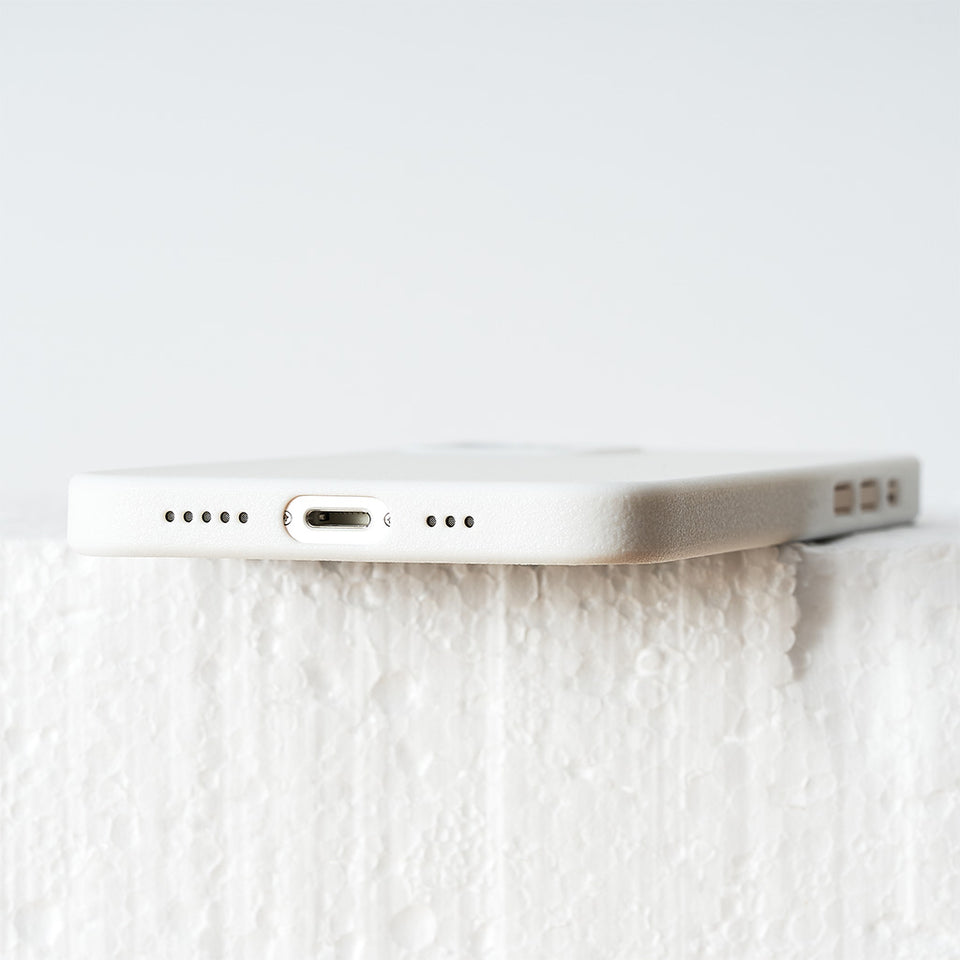 Ultradünnes iPhone 12 PRO Skinny Case - solid white