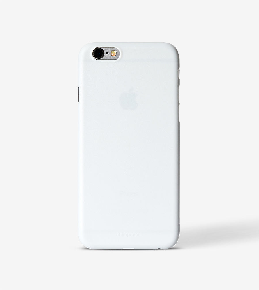chimpcase iPhone 6/6S Skinny Case - solid white