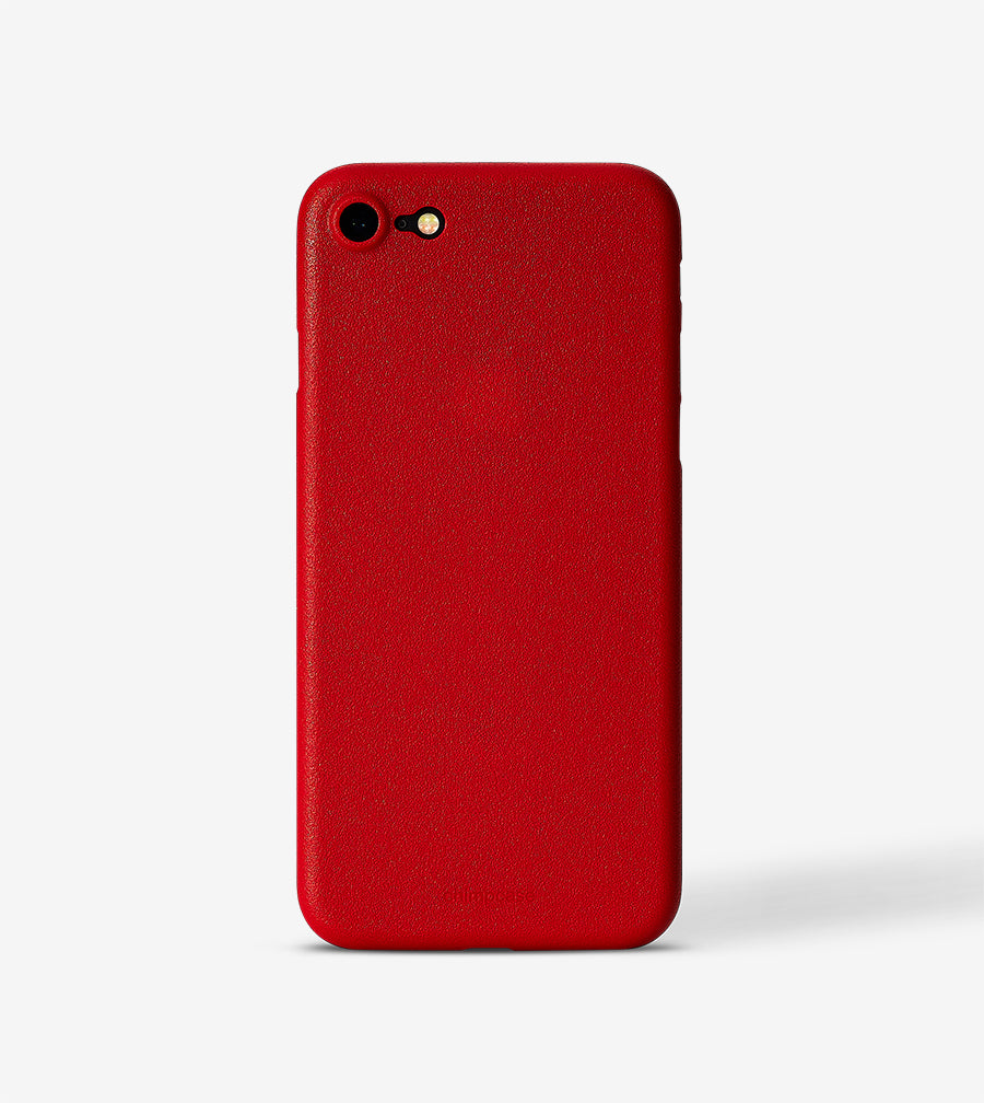 chimpcase iPhone 8 Skinny Case - solid red