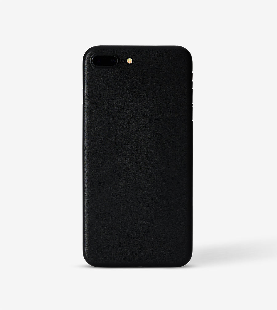 chimpcase iPhone 7 PLUS & 8 PLUS Skinny Case - solid black