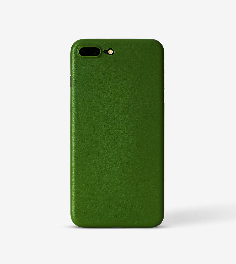 chimpcase iPhone 7 PLUS & 8 PLUS Skinny Case - solid kale