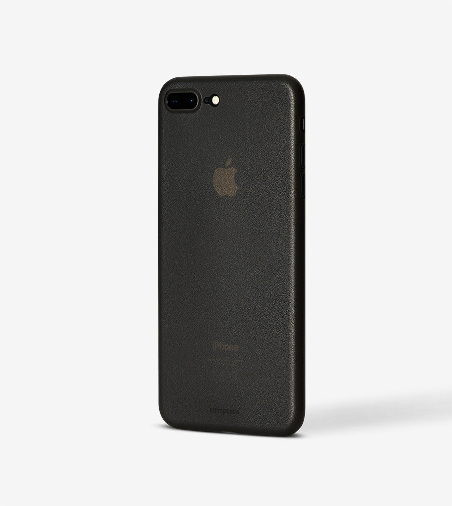 chimpcase iPhone 7 PLUS & 8 PLUS Skinny Case - frosty black