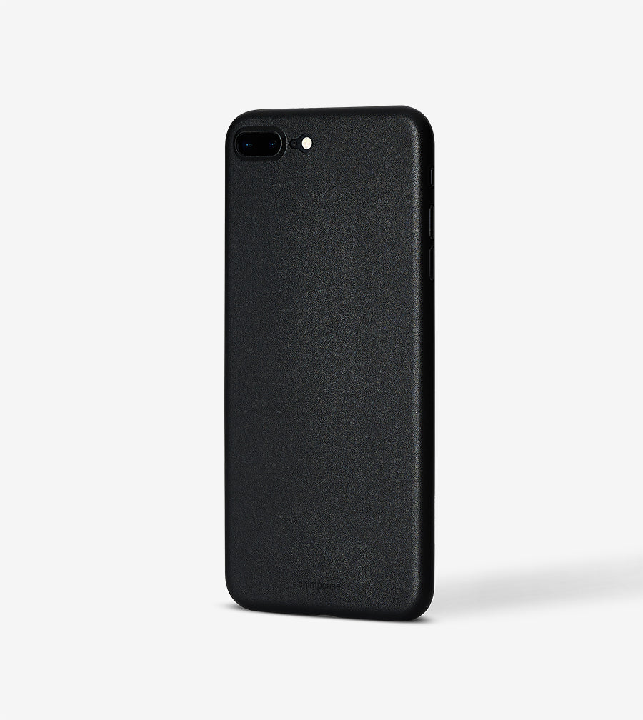 chimpcase iPhone 7 PLUS & 8 PLUS Skinny Case - matte black