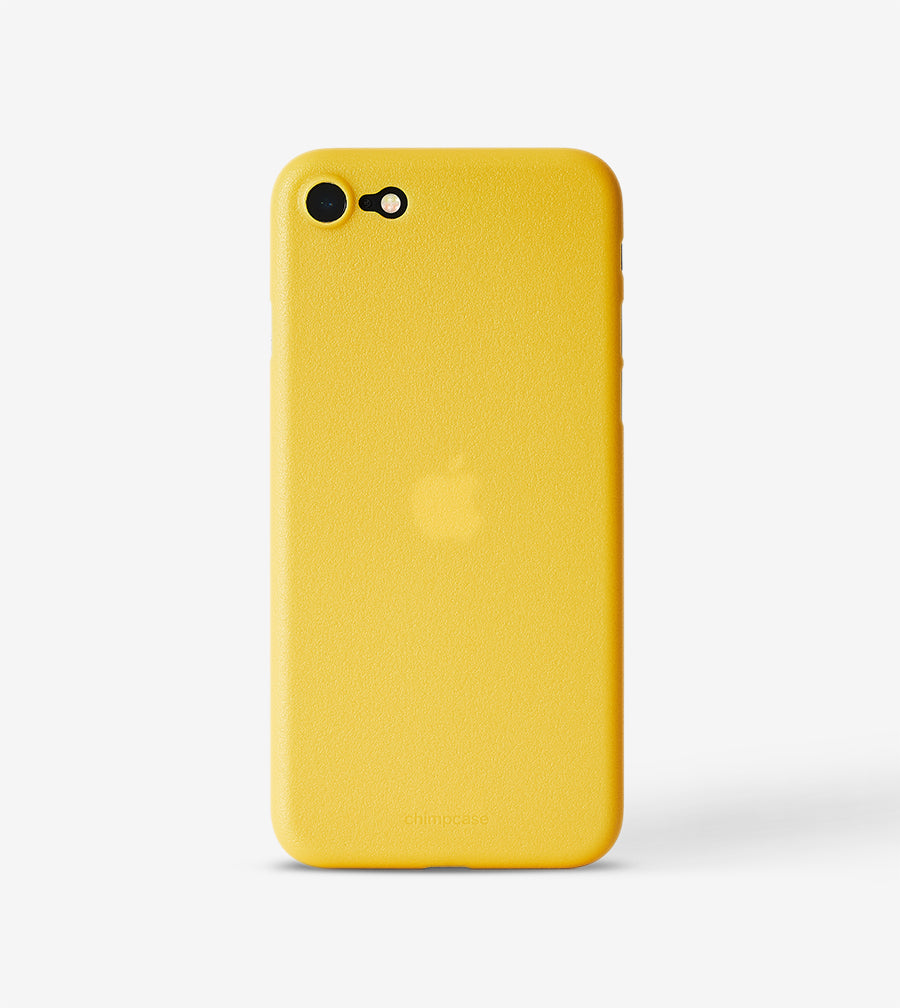 chimpcase iPhone SE / 8 / 7 Skinny Case - mango