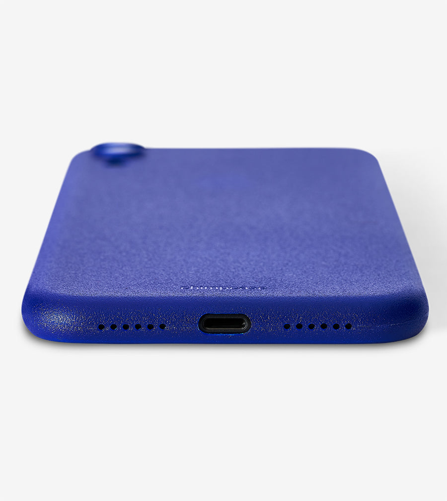 chimpcase iPhone XR Skinny Case - frosty duke blue