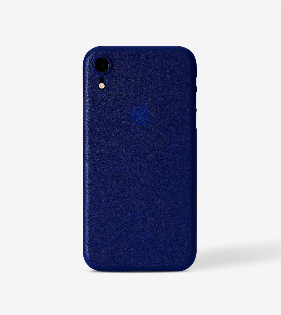 Ultradünnes iPhone XR Skinny Case - frosty duke blue