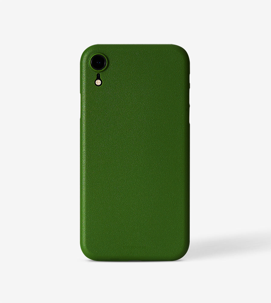 chimpcase iPhone XR Skinny Case - solid kale