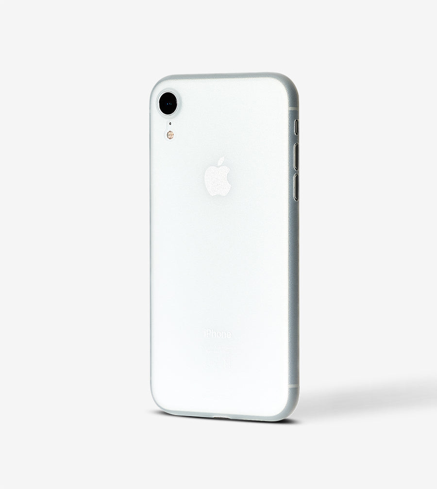 chimpcase iPhone XR Skinny Case - frosty transparent