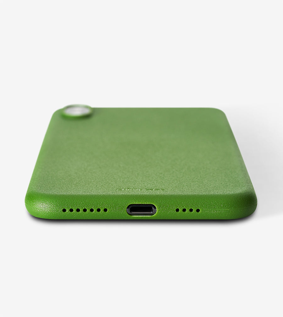 chimpcase iPhone XS MAX Skinny Case - solid kale