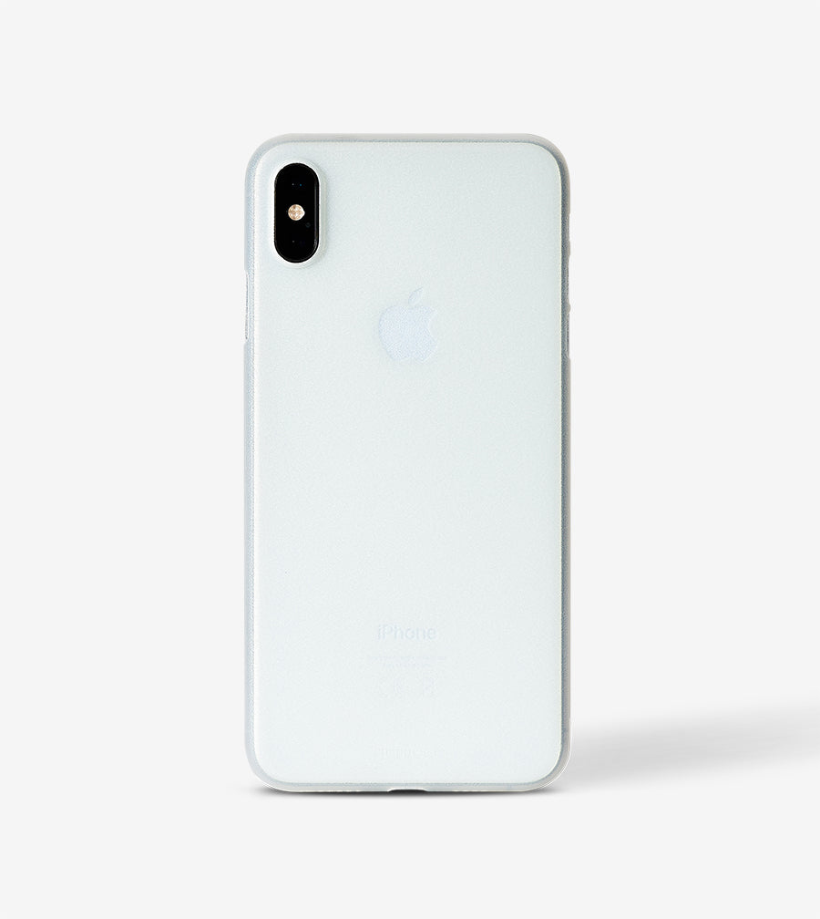 Ultradünnes iPhone XS MAX Skinny Case - frosty transparent