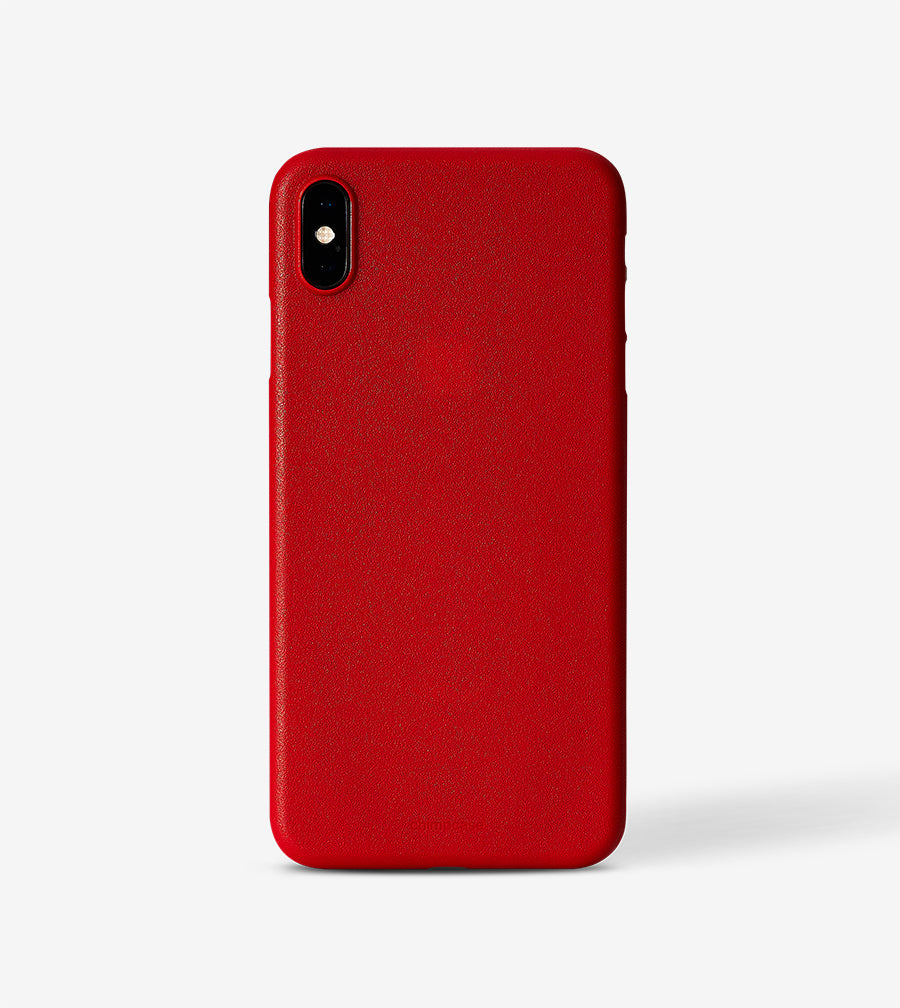 chimpcase iPhone X-S MAX Skinny Case - solid red