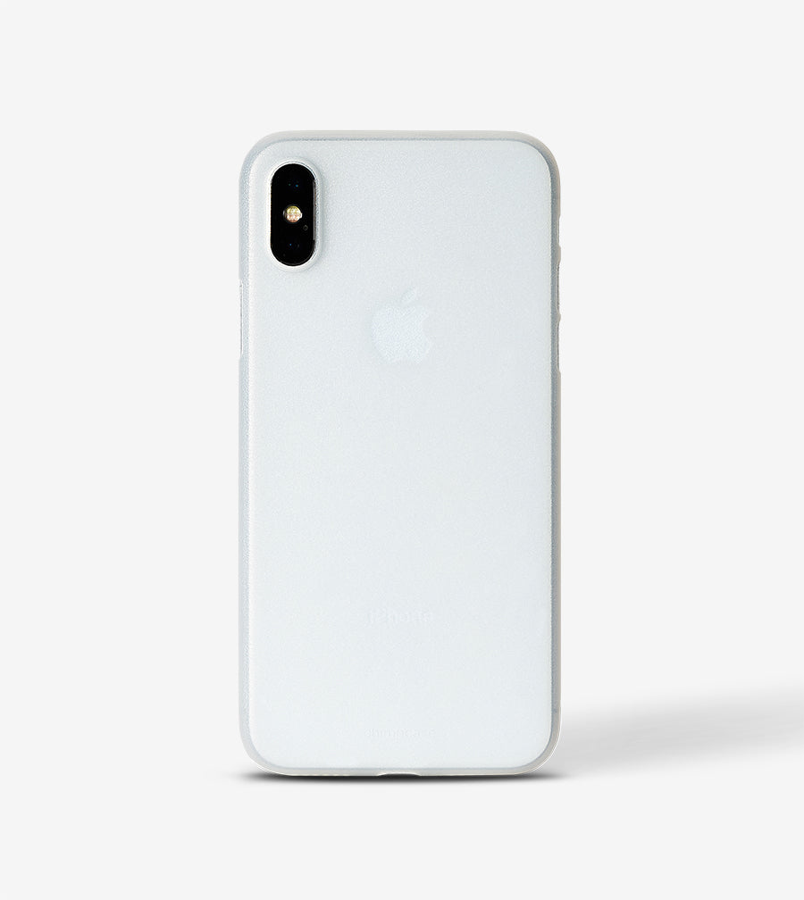 chimpcase iPhone X Skinny Case - frosty transparent