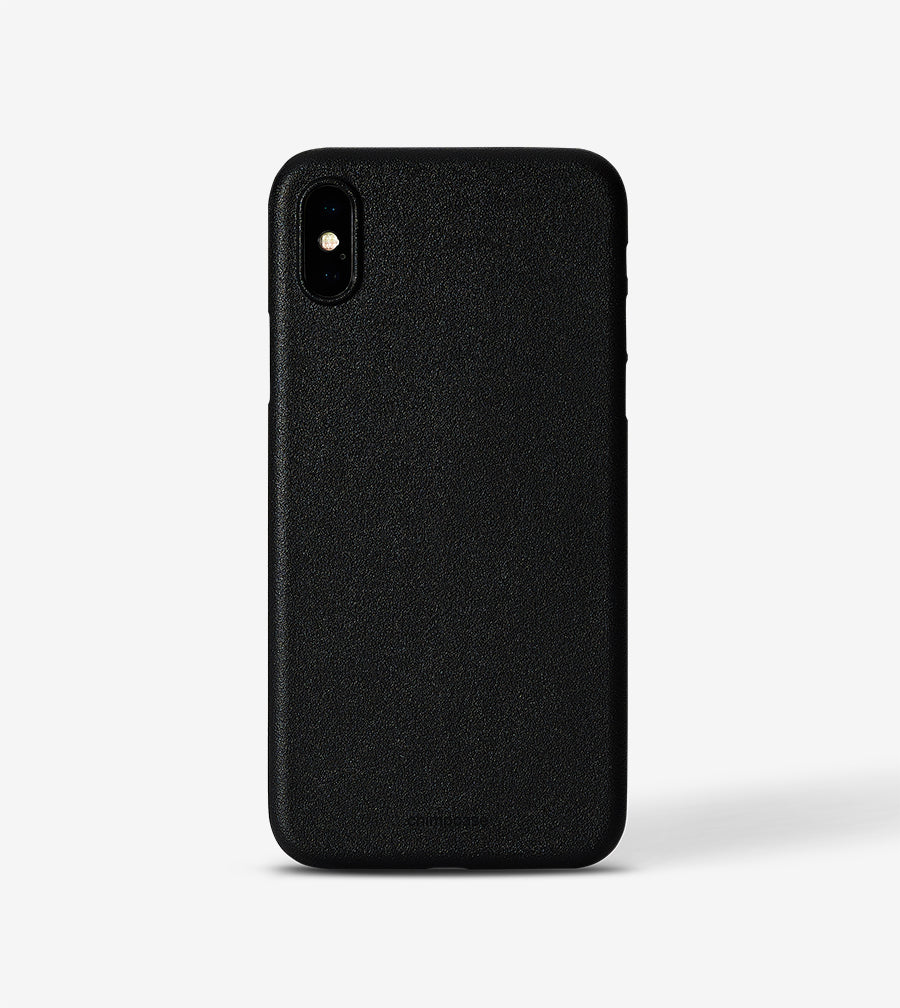 chimpcase iPhone X Skinny Case - solid black