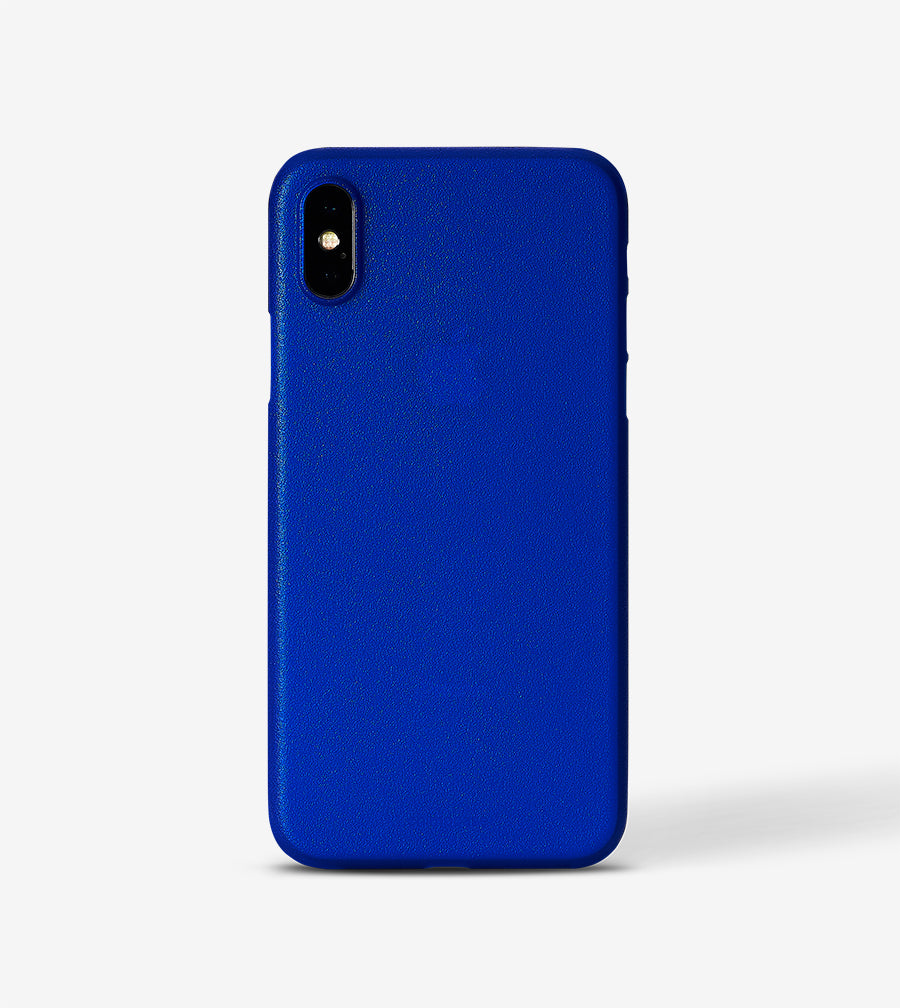 chimpcase iPhone XS Skinny Case - frosty duke blue