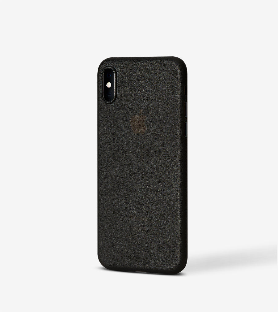 chimpcase iPhone X Skinny Case - frosty black