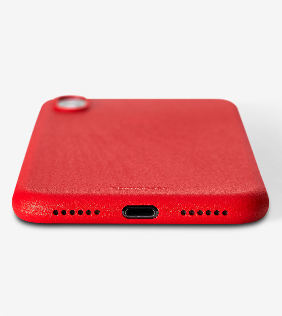 chimpcase iPhone X Skinny Case - solid red