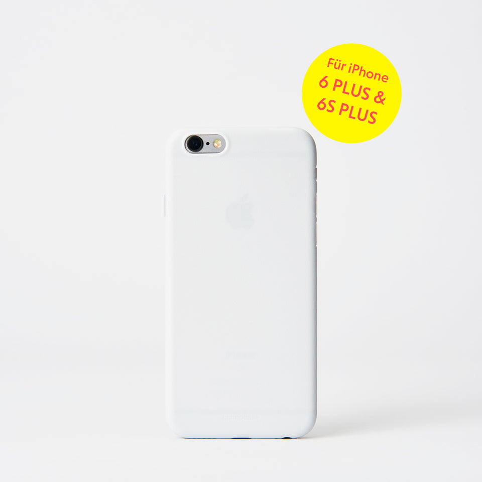 chimpcase iPhone 6 PLUS/6S PLUS Skinny Case - solid white