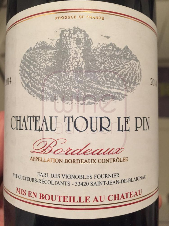Chateau Tour Le Pin 2017