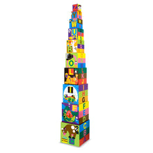 Load image into Gallery viewer, Melissa & Doug Alphabet Nesting and Stacking Blocks, Developmental Toys