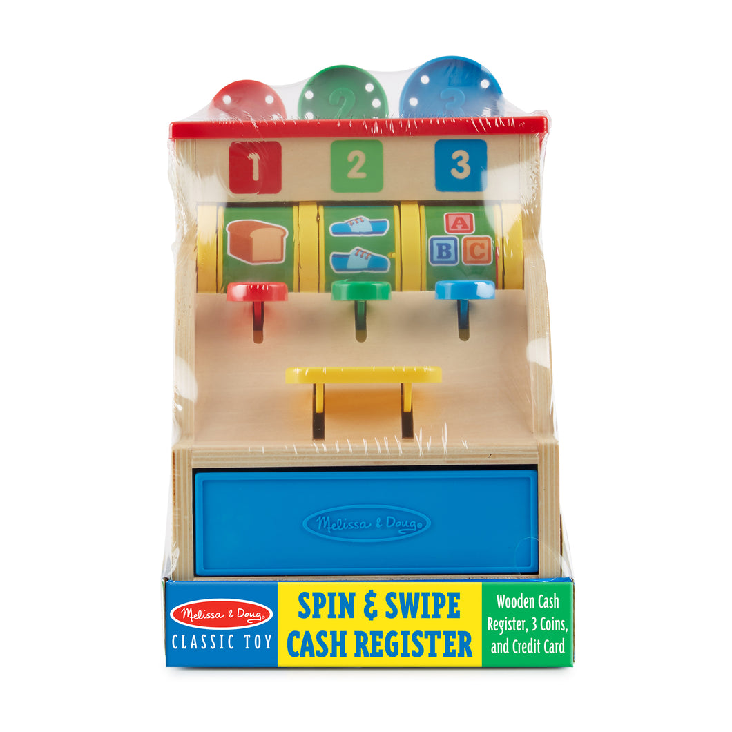 Spin & Swipe Cash Register