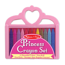 Load image into Gallery viewer, Melissa & Doug Princess Crayon Set - 12 Colors