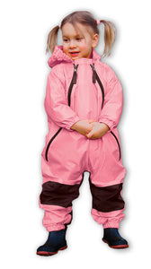 NEW - Muddy Buddy one piece rain suit, PINK
