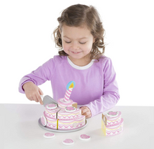 Load image into Gallery viewer, Melissa & Doug Triple - Layer Party Cake