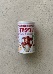 Amarena Toschi Black Cherries in Syrup (400g)