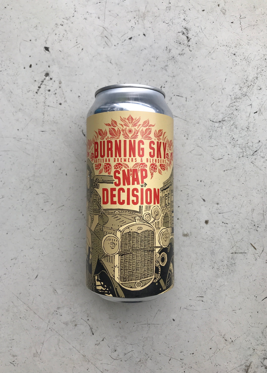 Burning Sky Snap Decision 6% (440ml Can)