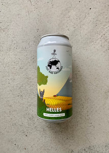 Lost & Grounded Helles 4.4% (440ml)