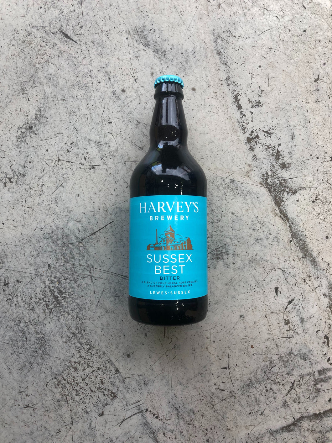 Harvey's Brewery Sussex Best Bitter 4% (500ml Bottle)