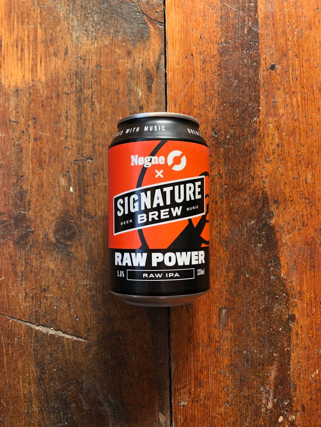 Signature Brew + Nøgne Ø Raw Power 5.8% (330ml)