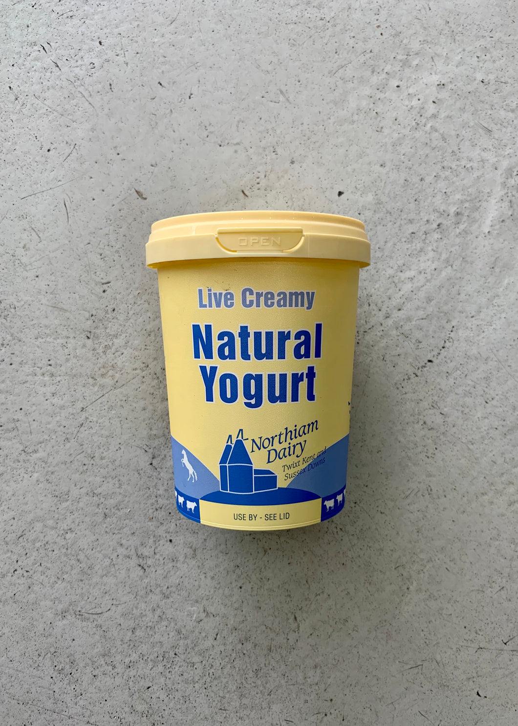 Northiam Dairy Natural Yoghurt (500g)