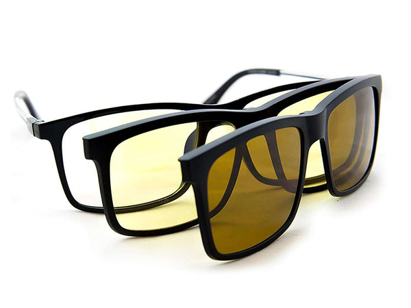 Lente de sol para Hombre Eagle Eyes 3 EN 1 SUPERSIGHT Negro
